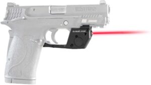 ArmaLaser TR28 Designed to fit S&W M&P 380 Shield EZ, M&P 22 Compact and M&P 9 EZ Ultra Bright Red Laser Sight Grip Activation Smith and Wesson