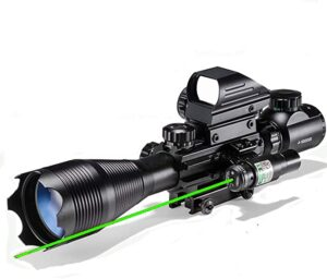 Laser Rangefinder Rifle Scope