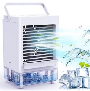 Portable Air Conditioner Fan with 3 Wind Speeds